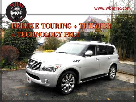 2014_INFINITI_QX80_4WD w/ Deluxe Technology Pkg_ Arlington VA