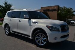 INFINITI QX80 4X4/New Tires/Theater Pkg/Middle Row Captains Chairs/Power Folding 3rd Row/Navigation/360 Cameras/Heated Seats-Steering Wheel/Pwr Liftgate 2014