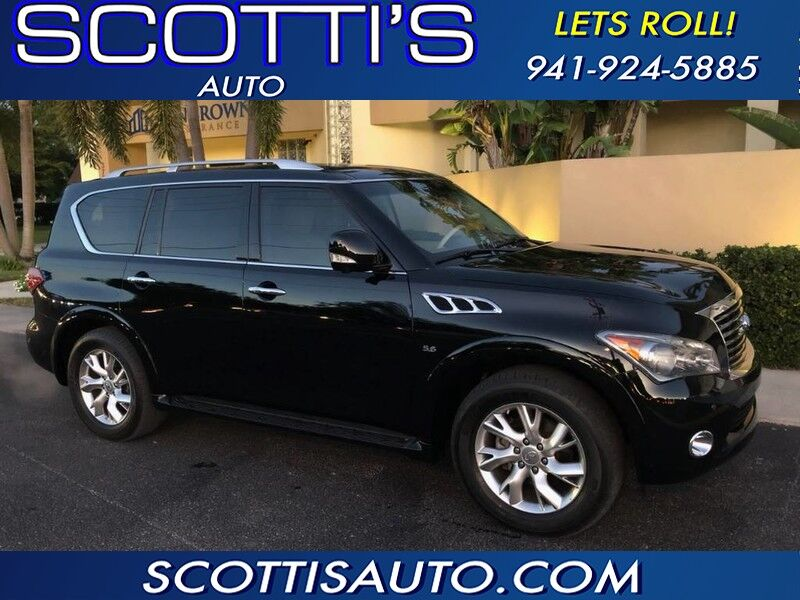 2014 INFINITI QX80 LUXURY SUV! TAN LEATHER! 1-OWNER! SUPER CLEAN! CARFAX CERT!