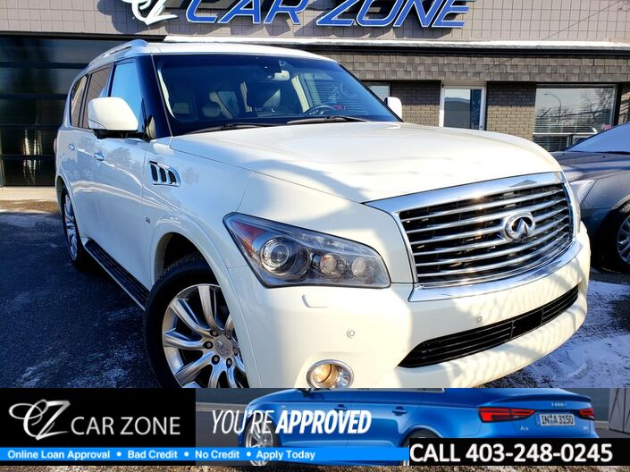 2014 INFINITI QX80 TECH PACKAGE ONE OWNER, SERVICED Calgary AB