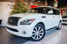 2014 INFINITI QX80 Technology Deluxe Touring Package Theater Package1 Owner