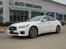 2014_Infiniti_Q50_Sport Hybrid AWD NAV, HTD STS, BLIND SPOT, BACKUP CAM, LANE DEPART, HTD STEERING, PUSH BUTTON START_ Plano TX