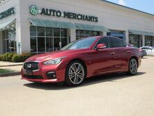 Infiniti Q50 Sport NAV, SUNROOF, HTD SEATS, BLUETOOTH, BACKUP CAM, PUSH BUTTON, AUX INPUT, BOSE STEREO, LEATHER 2014