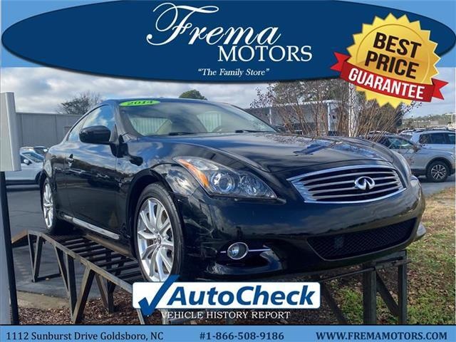 2014 Infiniti Q60 Base Rear-wheel Drive Coupe Goldsboro NC