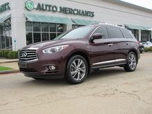 2014_Infiniti_QX60_Base AWD NAV, HTD/COOLED STS, 360 DEG CAM, PWR LIFT, BLUETOOTH, PUSH BUTTON, SAT RADIO, 3RD ROW_ Plano TX