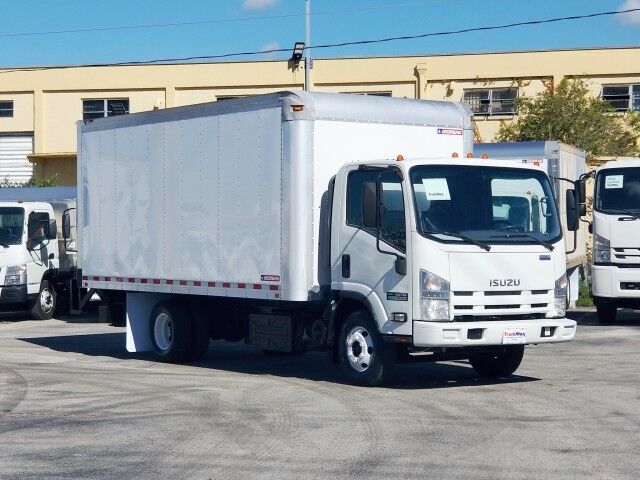 2014 Isuzu NPR ECO-MAX 16' Dry Box with 1500 Lbs Lift Gate