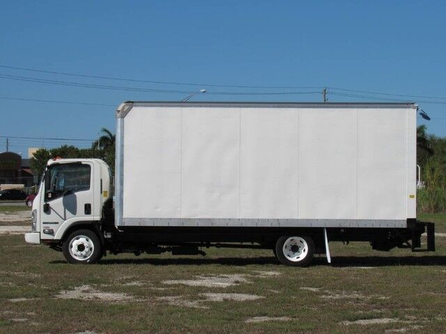 2014 Isuzu NPR-HD 20' Dry Freight Box (Gas) Homestead FL