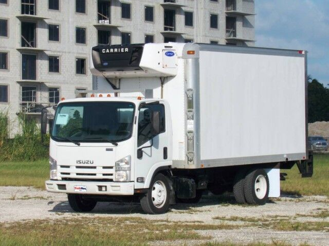 2014 Isuzu NRR 16' Refrigerated Truck with 2000 lbs lift gate Homestead FL