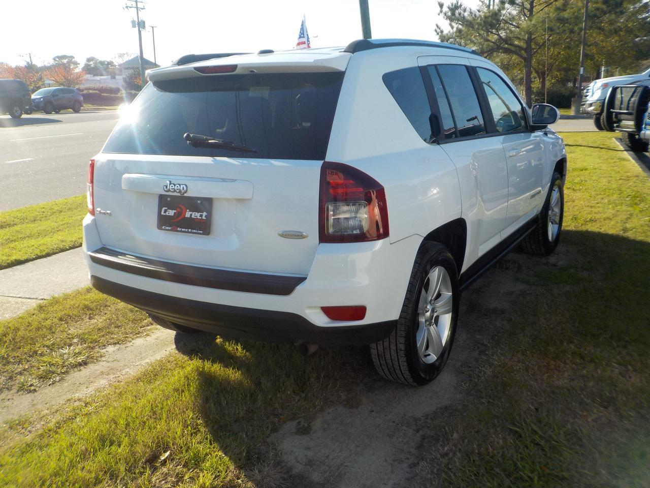 2014 JEEP COMPASS LATITUDE 4X4, LEATHER, HEATED SEATS, REMOTE START, BLUETOOTH, ONLY 55K MILES! Virginia Beach VA