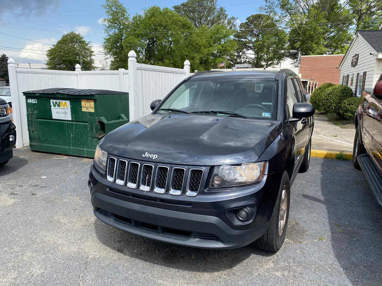 2014 JEEP COMPASS SPORT, WHOLESALE TO THE PUBLIC, PUSH PULL OR TOW, NEEDS TRANSMISSION, CHEAP BUY, $1,000 OBO! Norfolk VA