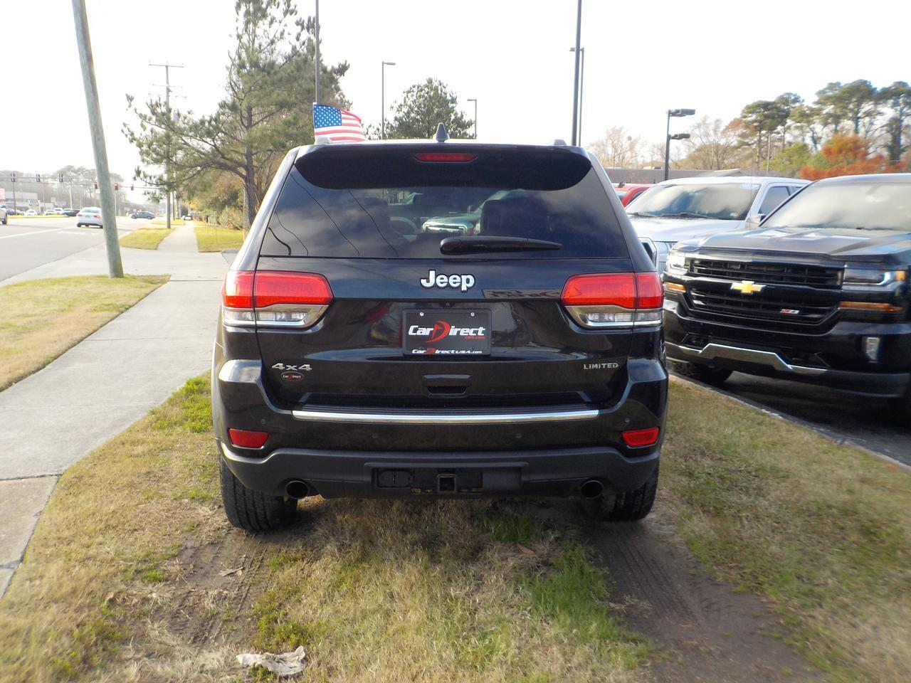 2014 JEEP GRAND CHEROKEE LIMITED 4X4, ONE OWNER, LEATHER, NAVIGATION, TOW PKG, REMOTE START, HEATED SEATS, ONLY 74K MILES! Virginia Beach VA