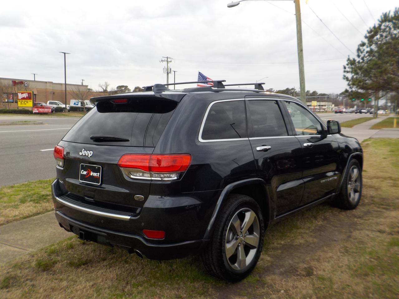2014 JEEP GRAND CHEROKEE OVERLAND 4X4, WARRANTY, NAVIGATION, PANO ROOF, REMOTE START, PARKING SENSORS, BACKUP CAMERA! Virginia Beach VA