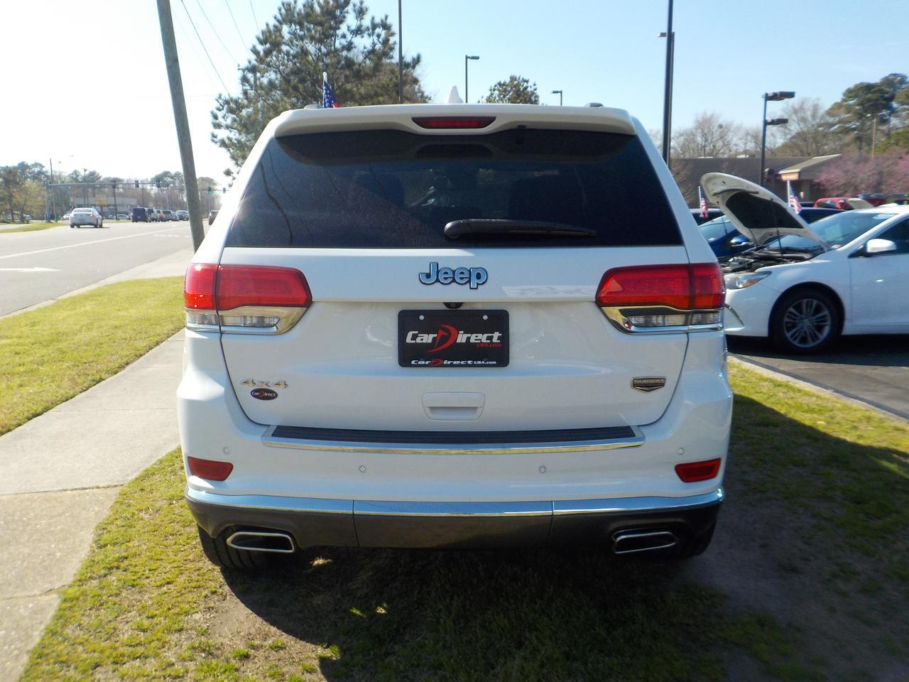 2014 JEEP GRAND CHEROKEE SUMMIT 4X4, WARRANTY, REMOTE START, BACKUP CAMERA, HEATED & COOLED SEATING, PANO ROOF, ROOF RACKS! Virginia Beach VA