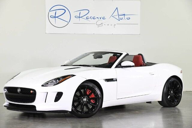 2014 Jaguar F-TYPE V6 S Convertible Performance Vision Premium Pack The Colony TX