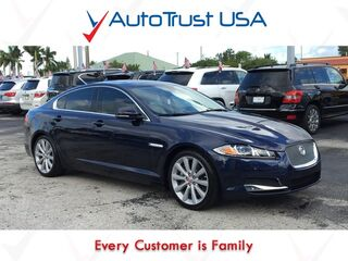 Jaguar XF V6 SC 1 OWNER CLEAN CARFAX NAV BACKUP CAM SUNROOF AWD LOADED 2014