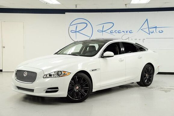 2014_Jaguar_XJ_5.0 V8 Supercharged Panoramic Roof Full Leather_ The Colony TX