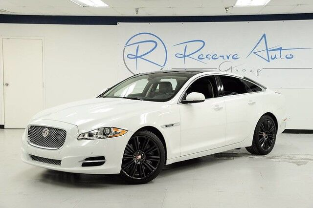 2014 Jaguar XJ 5.0 V8 Supercharged Panoramic Roof Full Leather The Colony TX