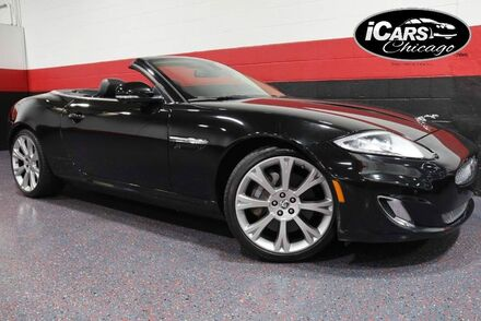 2014_Jaguar_XK_2dr Convertible_ Chicago IL