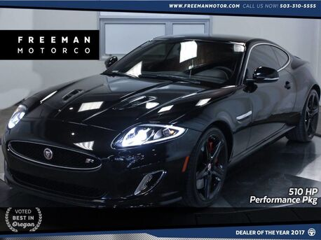 2014_Jaguar_XKR_Performance Pack 510 HP 24k Miles Vented Seats_ Portland OR