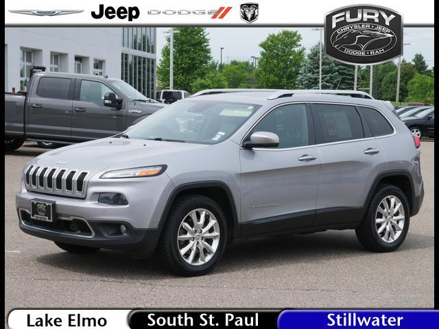 2014 Jeep Cherokee 4WD 4dr Limited Stillwater MN