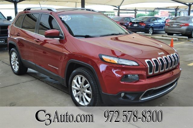 2014 Jeep Cherokee 4WD Limited 4WD Plano TX