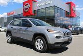 2014 Jeep Cherokee 4WD, Sport, w/ No Accidents, Heated Front Seats and Heated Steering Wheel