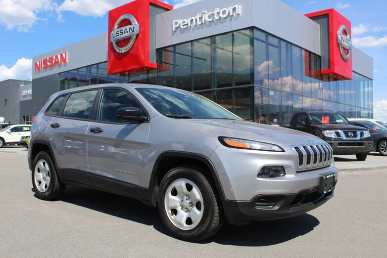 2014 Jeep Cherokee 4WD, Sport, w/ No Accidents, Heated Front Seats and Heated Steering Wheel Kelowna BC