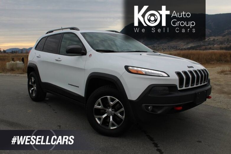 2014 Jeep Cherokee 4WD, Trailhawk, Navigation, Heated Steering Wheel Kelowna BC