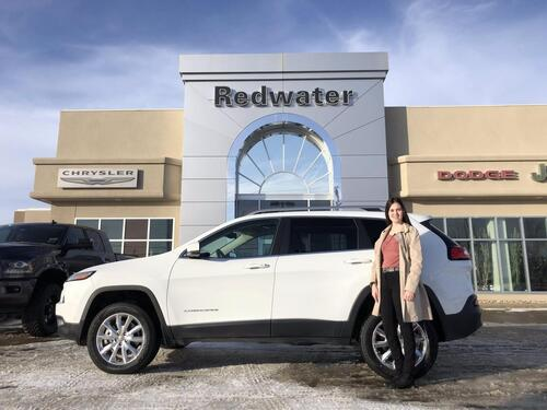 2014_Jeep_Cherokee_Limited 4X4 - 3.2L V6 - 9 Speed Auto Trans - Panoramic Sunroof - Navigation - One Owner - 48,948 Km_ Redwater AB