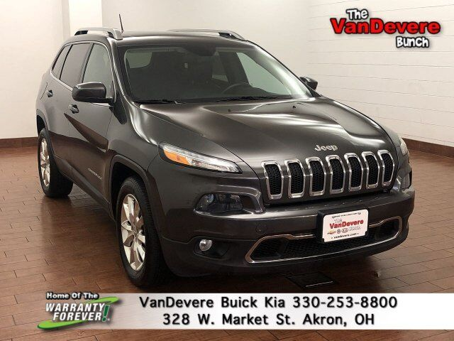 2014 Jeep Cherokee Limited Akron OH