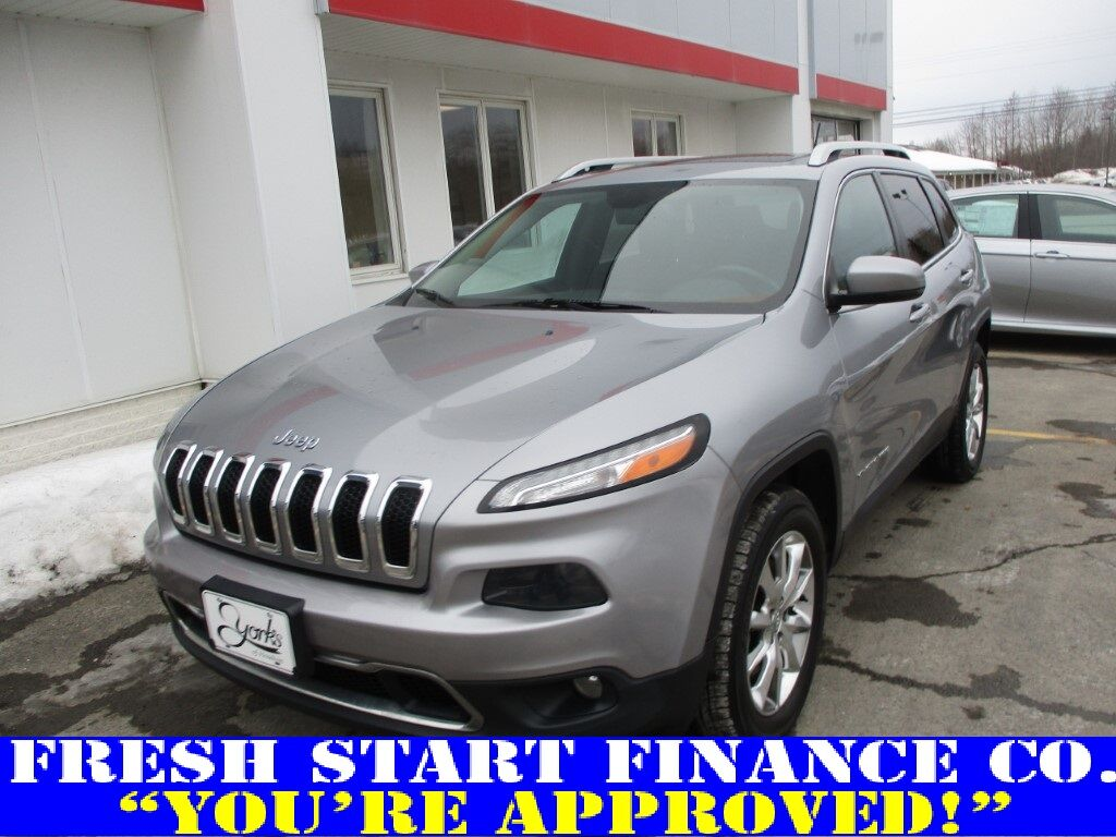 2014 Jeep Cherokee Limited Houlton ME