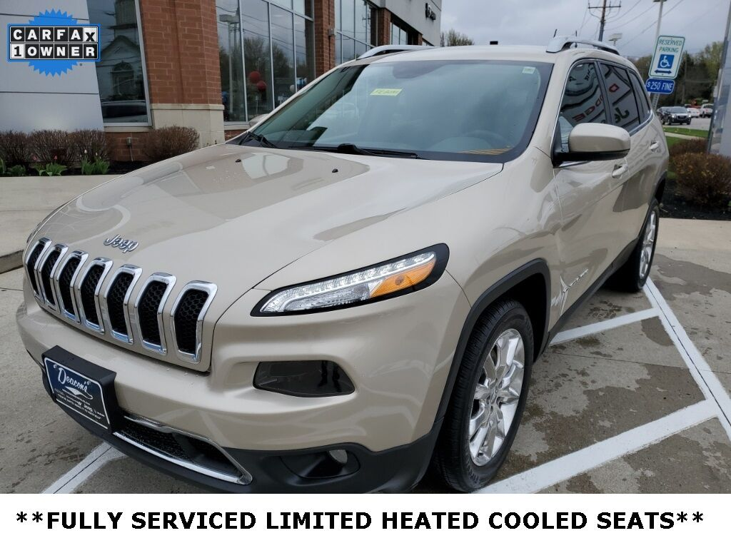 2014 Jeep Cherokee Limited Mayfield Village OH