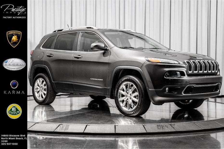 2014_Jeep_Cherokee_Limited_ North Miami Beach FL