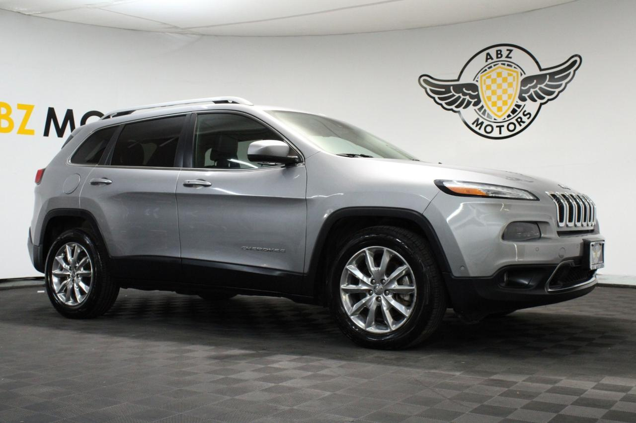 2014 Jeep Cherokee Limited Pano Roof,Blind Spot,Nav,Camera,Touch Screen Houston TX