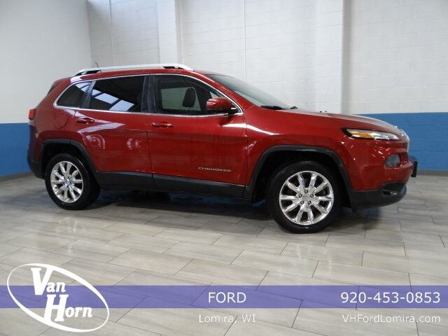 2014 Jeep Cherokee Limited Plymouth WI