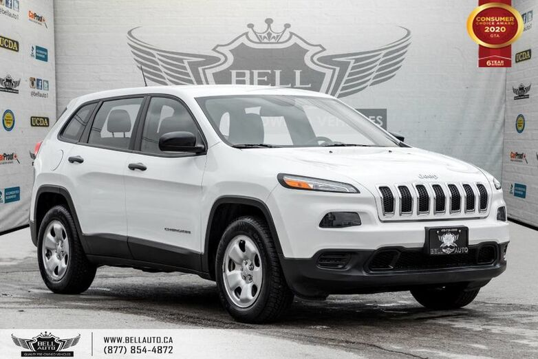 2014 Jeep Cherokee Sport, 4X4, V6, REAR CAM, BLUETOOTH, HEATED SEAT Toronto ON
