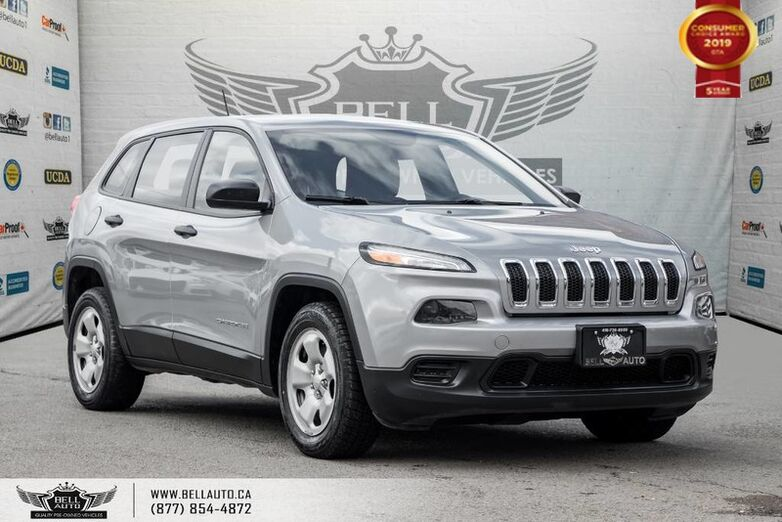 2014 Jeep Cherokee Sport, NO ACCIDENT, BLUETOOTH, TRACTION CNTRL, PWR MIRRORS Toronto ON