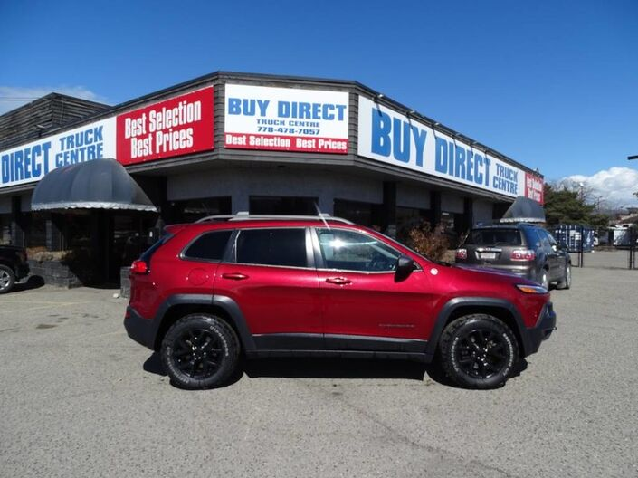 2014 Jeep Cherokee Trailhawk Back-up Camera, Leather Seats, Navigation, Touch screen Kelowna BC