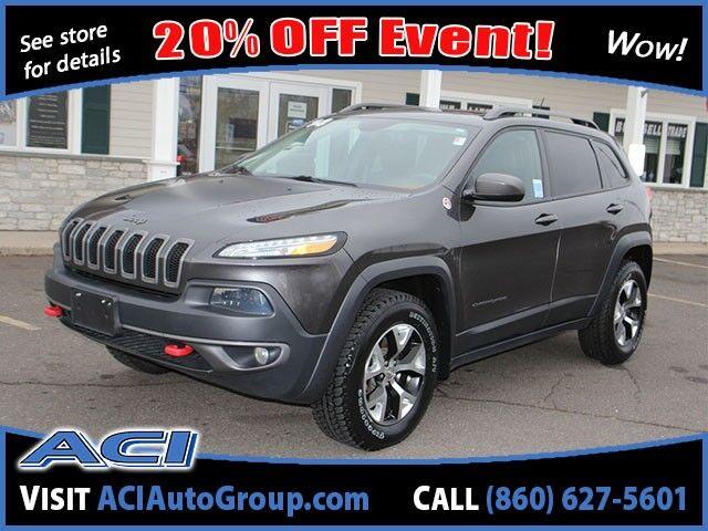 2014 Jeep Cherokee Trailhawk East Windsor CT
