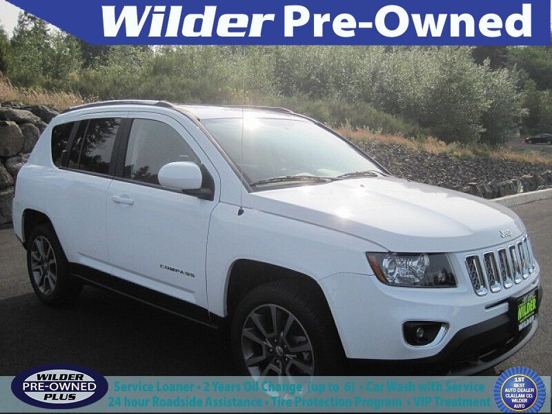 2014 Jeep Compass 4d SUV 4WD Limited