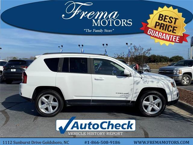 2014 Jeep Compass Latitude Front-wheel Drive Goldsboro NC