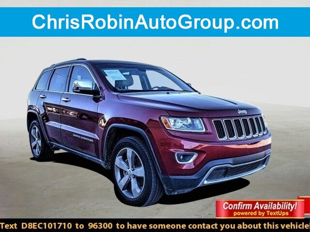 2014 Jeep Grand Cherokee 4WD 4DR LIMITED Odessa TX