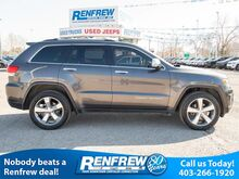 2014_Jeep_Grand Cherokee_4WD Limited, Sunroof, Navigation, Heated Leather Seats, Remote Start, Bluetooth_ Calgary AB
