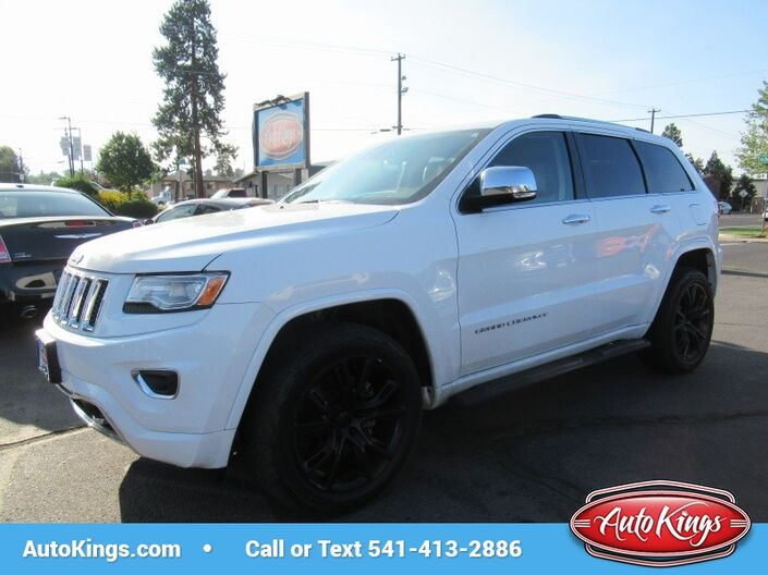 2014 Jeep Grand Cherokee 4WD Overland DIESEL! Bend OR
