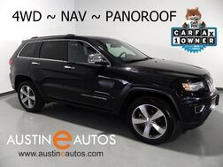 2014_Jeep_Grand Cherokee 4X4 Limited_*LUXURY GROUP II, NAVIGATION, CAM, CLIMATE SEATS, PANORAMA ROOF, BLUETOOTH_ Round Rock TX
