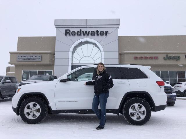 2014 Jeep Grand Cherokee Laredo - 4X4 - Winter/Summer Tires - Locally Owned - One Owner  - 8 Speed Trans Redwater AB