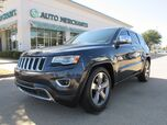 2014 Jeep Grand Cherokee Limited 2WD ***DIESEL*** BACKUP CAM, BLUETOOTH, HEAT/COOLED SEATS, NAVI, PANO ROOF, DUAL ZONE A/C