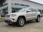 2014 Jeep Grand Cherokee Limited 2WD LEATHER,BACK UP CAMERA,SUNROOF,BLUETOOTH CONNECTION,FACTORY WARRANTY!