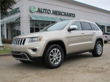 2014_Jeep_Grand Cherokee_Limited 2WD LEATHER,BACK UP CAMERA,SUNROOF,BLUETOOTH CONNECTION,FACTORY WARRANTY!_ Plano TX