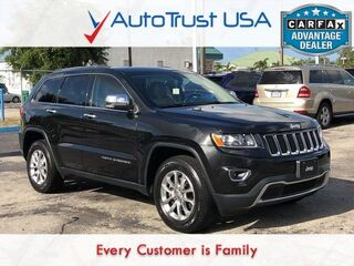 Jeep Grand Cherokee Limited 4X4 LEATHER BACKUP CAM UCONNECT HEATED SEATS 2014